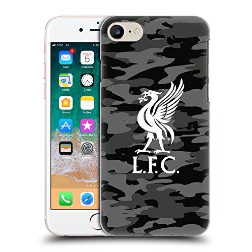 Head Case Designs Offizielle Liverpool Football Club Away Liver Bird Farben Camou Harte Rueckseiten Huelle kompatibel mit Apple iPhone 7 / iPhone 8 / iPhone SE 2020