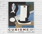 WallBuddy Kubismus Druck Kubismus Ausstellung Poster