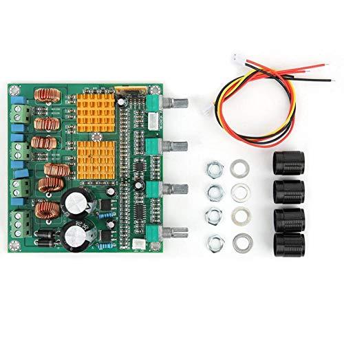 3116 1 Uds Placa amplificadora de potencia Bluetooth 2.1 de 3 canales para 22-26VDC