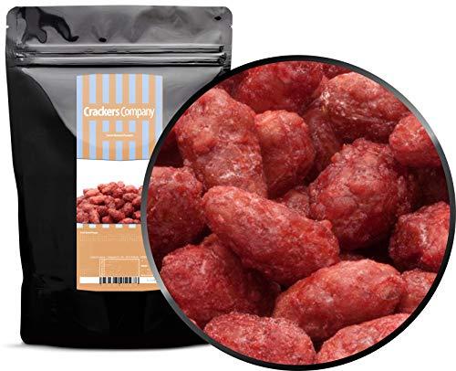 1 x 500g Gebrannte Premium Erdnusskerne rotbraun Erdnüsse gebrannt kandiert glutenfrei laktosefrei