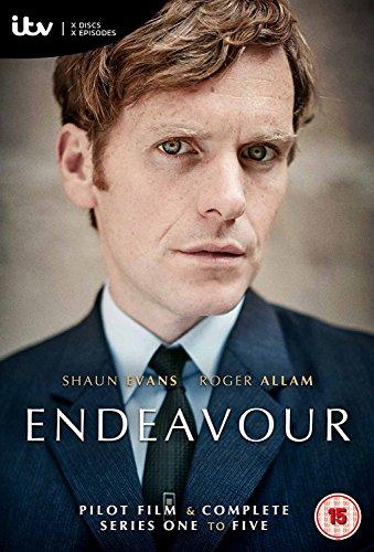 Endeavour - Pilot Film & Complete Series 1-5
