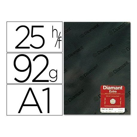 Diamant DIN-A-1 - Papel vegetal diamante, A1