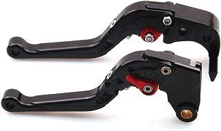 1 Paire de Freins /à r/églage CNC Levier dembrayage Compatible avec Triumph Speed Triple 1050 2011-2015,Noir CYRDJ Levier Embrayage Moto