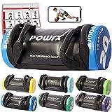 POWRX Power Bag I 5-30 kg I Kunstleder Fitness Bag für Functional Fitness (20 kg...