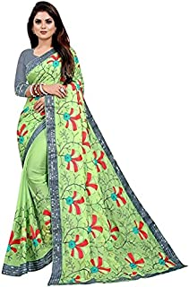 KD Fabulous Women's Pure Cotton Saree With Blouse Piece (KD-A-1-6)