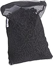 NTnormal 10 Piece, Activated Charcoal Carbon in Free Mesh Media Bags for Aquarium Fish Pond Canister Filter Bags, 10 lb.