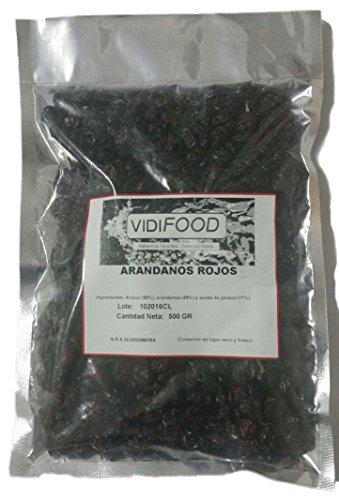 Arándanos Rojos Deshidratados - 1kg
