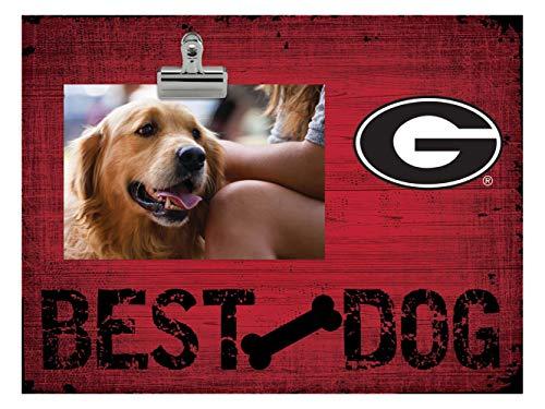 Fan Creations NCAA Georgia Bulldogs Best Dog Clip-It Photo Frame