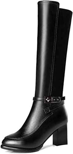 GTVERNH Chaussures Femmes Knight Bottes Mode Les Chaussures De Femmes. Femmes.  prix raisonnable