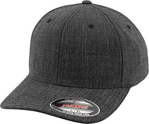Flexfit Mütze Fine Melange, Black, L/XL