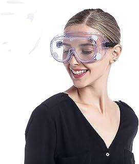 عینک مخصوص آزمایشگاه شیمی شیمی عینک ایمنی ضد مه ، بیش از عینک تجویز عینک مخصوص علوم عینک پیاز برای زنان محافظ چشم چوبی کاری جوش پاک