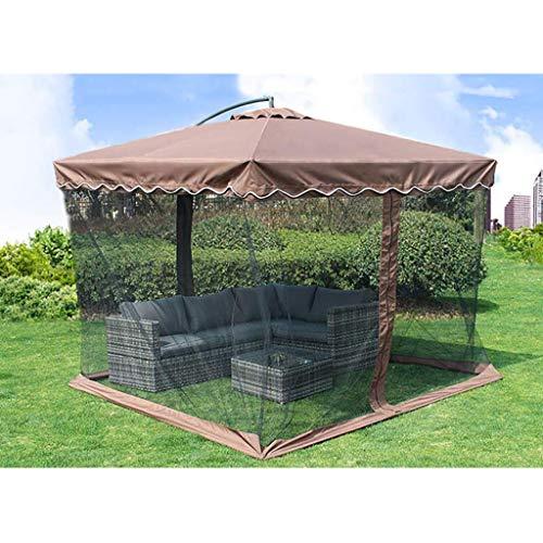 HUAQINEI Outdoor-Regenschirm Anti-Regenschirm/Outdoor-Markt Regenschirm/Sonnenschutzzelt/Gartenschirm,Aluminiumhalterung Polyester-Stoff Wasserdicht Anti-Faltbar,Modern