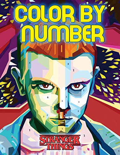 Stranger Things Color By Number: A Cool Color By Number For
