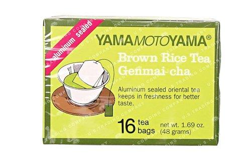 Bei 2 - Genmaicha Japanische Grüner Tee (16 Beutel) durch Yamamotoyama