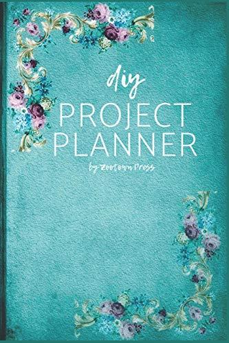 DIY Project Planner: Vintage Teal Flowers