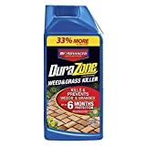 BioAdvanced 704330A DuraZone Weed & Grass Killer, Non-Selective Herbicide with 6 Months of...