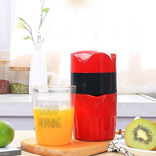 JKYQ Gesunder Entsafter mit kaltem Pressverfahren Handorange Entsafter Küche oder Esszimmer Zitronen Granatapfel Orangensaft Kinder Saftmaschine