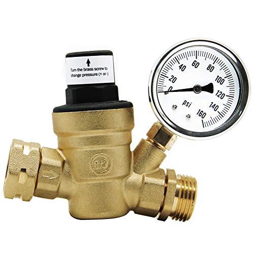 Twinkle Star RV Water Pressure Regulator Valve with...