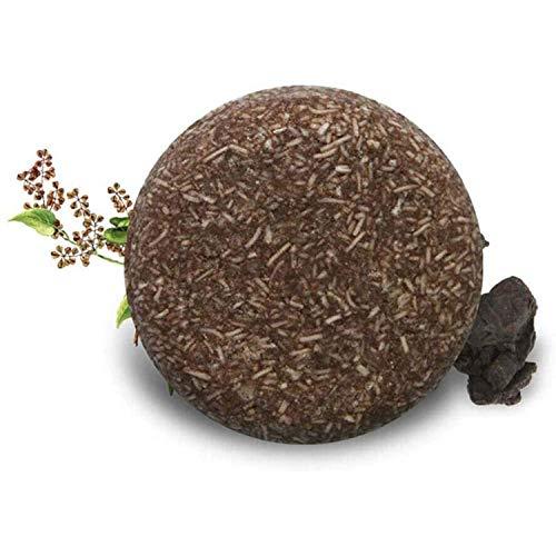 Multi-Dealine Barra de champú para oscurecer el Cabello, acondicionador orgánico Natural y Esencia reparadora, jabón sólido para el Cabello, para Cabello seco, graso y dañado (1pcs)