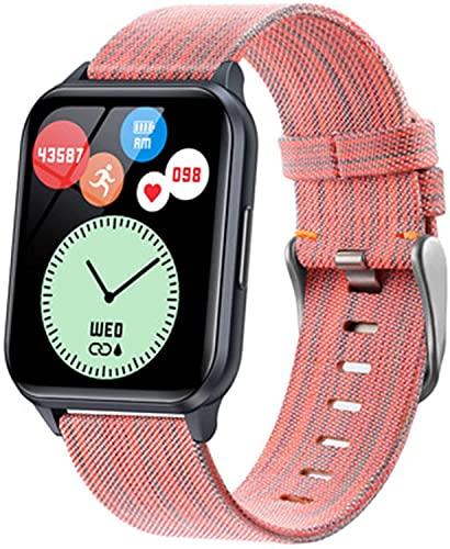 PKLG Modos deportivos Y79T reloj inteligente 1.69 pulgadas Fitness Tracker para hombres mujeres IP68 temperatura corporal pulseras de salud (B) (C)