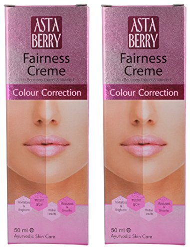 Astaberry Fairness Cream, White, 100 ml (Combo of 2)