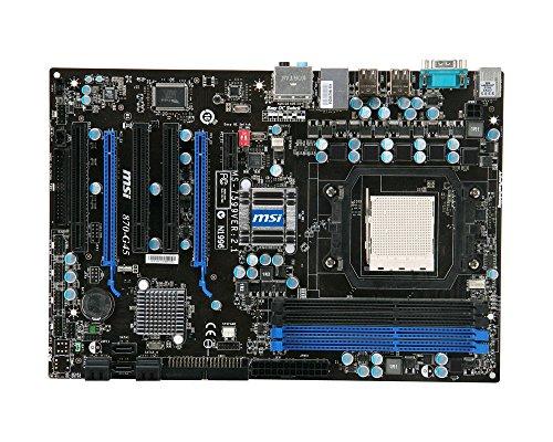MSI 870-G45 Mainboard Sockel AMD AM3 870 4 x DDR3 Speicher ATX