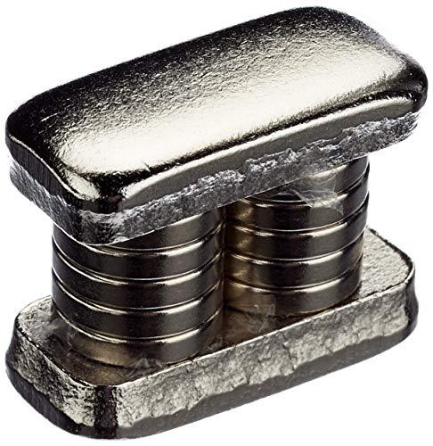 First4 Magnets Magneti al neodimio ad anello da fissare con viti a filo, 10 x 2 mm x 3mm 1,2 kg, N42 (Confezione da 10)