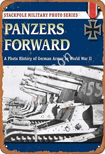 GenericBrands Panzers Forward a Photo German In World War II Cartel de...