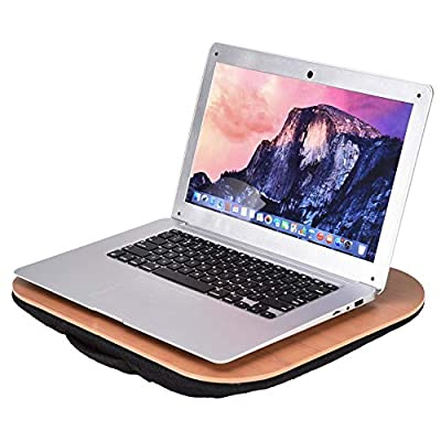 Small Lap Desk with Comfortable Cushion  Pc Hol...