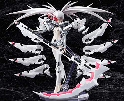 LJUCTD Estatua Figuras de acción Figura de PVC Juguete Personajes de Anime Modelo Muñeca Figura de acción 15 cm Figura de acción de Anime Black Rock Shooter The Game White Premium Collectible Model