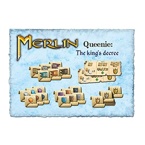 Queen Games 46282 - Merlin Queenie 2: Der Erlass des Königs