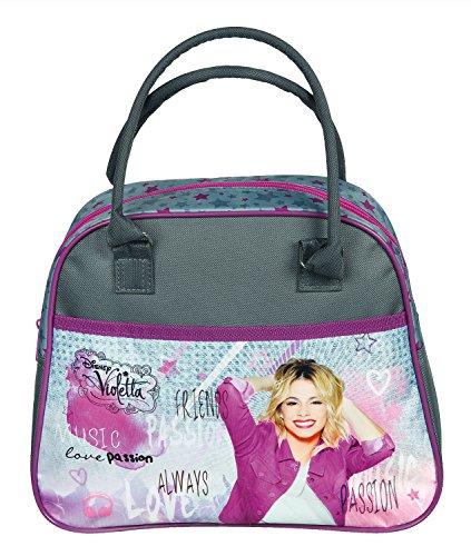 Undercover VIAE7804 Kinderhandtasche Disney Violetta, ca. 33 x 23 x 10 cm