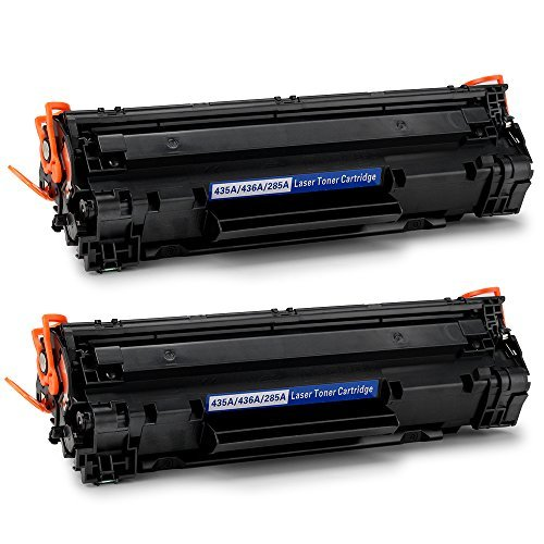 OfficeWorld - Cartucho de tóner compatible para HP 85A CE285A 35A CB435A, funciona con impresora HP...