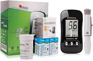 Kit De Glucosa En Sangre para Diabetes, Medidor De Glucosa De Uso Doméstico Cuidado De La Diabetes Fácil De Observar Rango De Glucosa En Sangre Barra De Color Mmol/L
