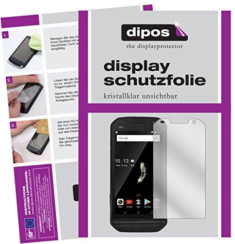 dipos I 2X Schutzfolie klar kompatibel mit Doogee S30 Folie Bildschirmschutzfolie