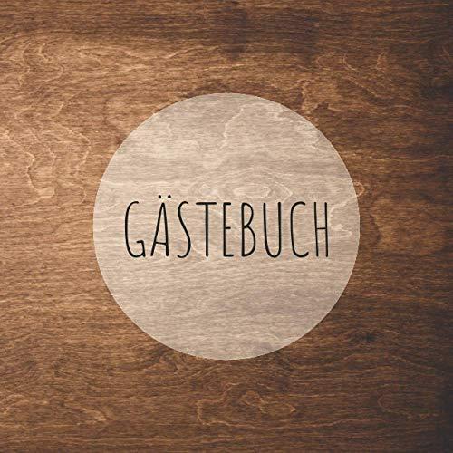 Gästebuch: für Ferienwohnung, Hotel, Ferienhaus, Bed and Breakfast, Gästehaus, Herberge | 110...