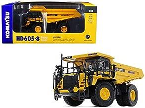 StarSun Depot New Komatsu HD605-8 Dump Truck 1/50 Diecast Model by First Gear