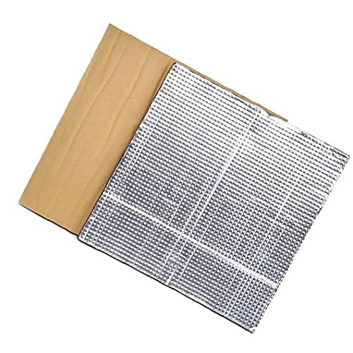 Plataforma caliente cama de aislamiento semillero de la impresora térmica Pad de aislamiento estera de la espuma 3D con calefacción Cama Aislamiento Térmico algodón 2 piezas de plata, esponja