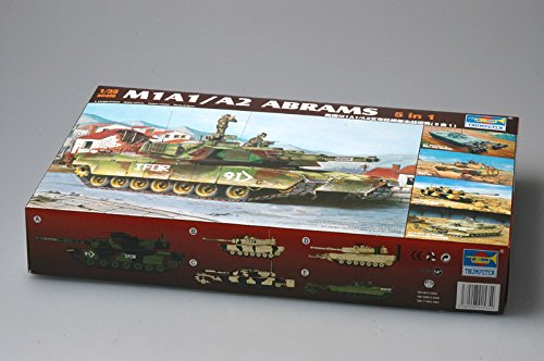 Trumpeter 01535 Modellbausatz M1A1/A2 Abrams 5 in 1