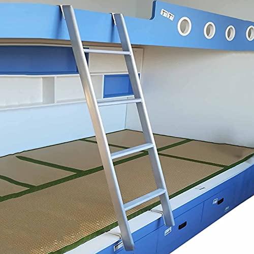 Taburete escalera Mellizo Escalera De Litera Solo Para Dormitorio De Niños, Escalera Ajustable Para Literas RV Con Ganchos, Escalera De Paso De Metal Resistente Para Remolque De Viaje Y Desván Domésti
