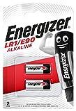 Energizer E-90/LR1 - Blíster de 2 pilas, color negro