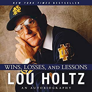 Wins, Losses, and Lessons audiobook cover art