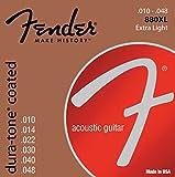Fender 073-0880-002 Cuerdas de guitarra acústica Dura-Tone 80/20 Bronze 10-48 880XL