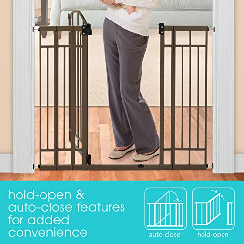 Summer Infant Multi-Use Walk-Thru Gate, Bronze