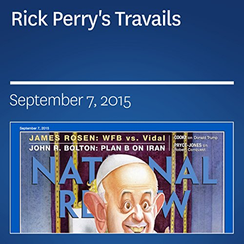 Rick Perry's Travails audiobook cover art