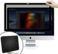 BERSEM iMac 21.5 inch Monitor Privacy Screen for Apple Desktop Computer, Fully Removable Privacy Screen Protector FilterAnti-Glare Anti-Scratch UV-Blocking Privacy Screen Protector 16:9 Ratio