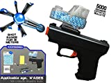 Temson Babytintin Regimental Police Water Soft Bullet Handgun Water Crystal Bullet Gun Toy