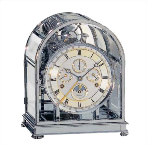 Kieninger Hochwertige mechanische Tischuhr mit Schlüsselaufzug 1709-02-02