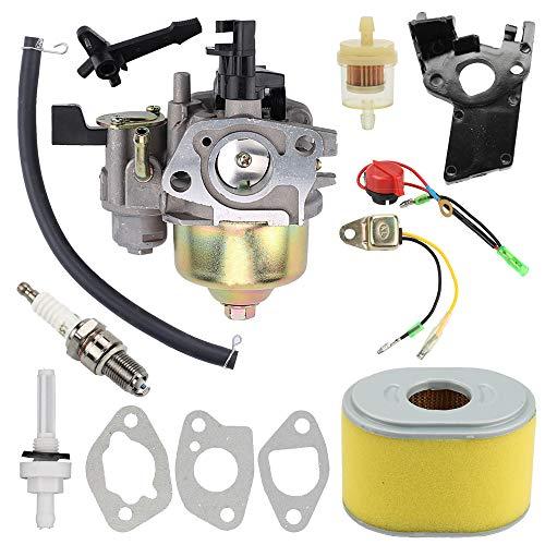 GX200 GX160 Carburetor with Air Fuel Filter Tune Up Kit for Honda GX120 GX160 GX200 5.5HP 6.5 HP Engine Replaces# 16100-ZH8-W61