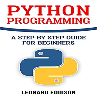 Python Programming audiobook cover art